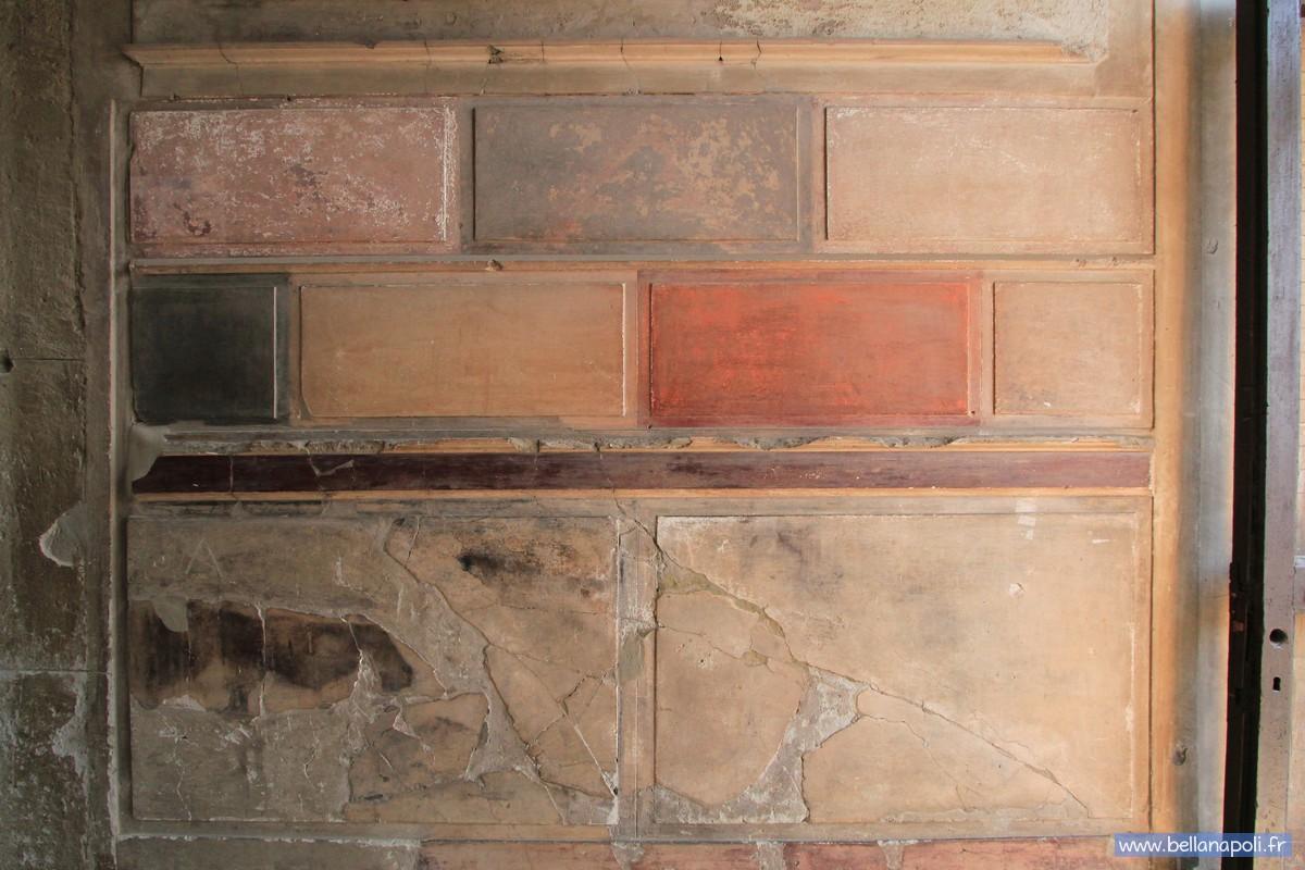 la peinture romaine bella napoli d couverte de naples. Black Bedroom Furniture Sets. Home Design Ideas