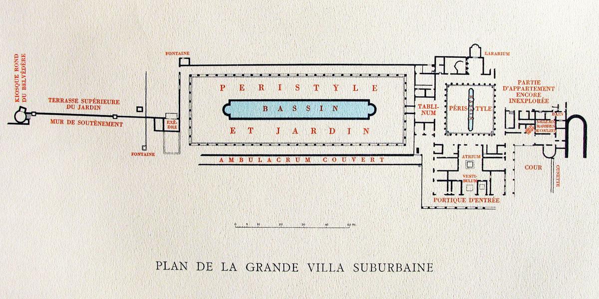 Villa Des Papyrus Plan